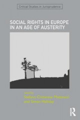 Omslag - Social Rights in Europe in an Age of Austerity