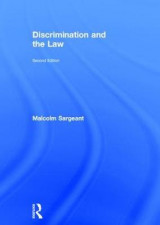 Omslag - Discrimination and the Law 2e
