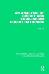 Omslag - An Analysis of Credit and Equilibrium Credit Rationing