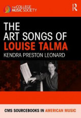 Omslag - The Art Songs of Louise Talma
