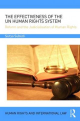 Omslag - The Effectiveness of the UN Human Rights System