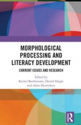Omslag - Morphological Processing and Literacy Development