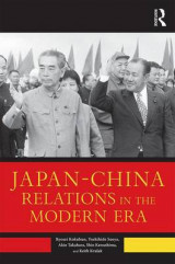 Omslag - Japan--China Relations in the Modern Era