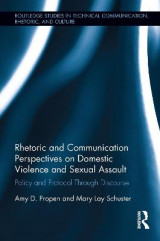 Omslag - Rhetoric and Communication Perspectives on Domestic Violence and Sexual Assault