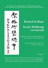Omslag - Rooted in Hope: China - Religion - Christianity / In Der Hoffnung Verwurzelt: China - Religion - Christentum: vol. 1