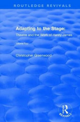 Omslag - Adapting to the stage theatre and
