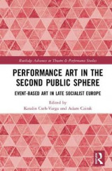 Omslag - Performance Art in the Second Public Sphere
