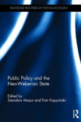 Omslag - Public Policy and the Neo-Weberian State