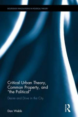 Omslag - Critical Urban Theory, Common Property, and