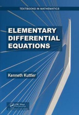 Omslag - Elementary Differential Equations