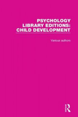 Omslag - Psychology Library Editions: Child Development