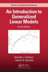 Omslag - An Introduction to Generalized Linear Models, Fourth Edition