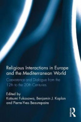 Omslag - Religious Interactions in Europe and the Mediterranean World