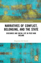 Omslag - Narratives of Conflict, Belonging, and the State