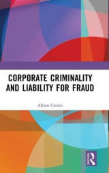 Omslag - Corporate Criminality and Liability for Fraud