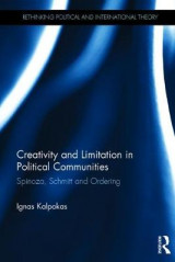 Omslag - Creativity and Limitation in Political Communities