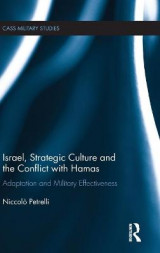 Omslag - Israel, Strategic Culture and the Conflict with Hamas