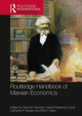 Omslag - Routledge Handbook of Marxian Economics