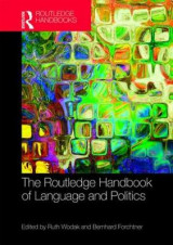 Omslag - The Routledge Handbook of Language and Politics