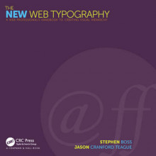 The New Web Typography av Jim Kidwell, Stephen Boss og Jason Cranford Teague (Heftet)