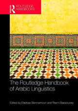 Omslag - The Routledge Handbook of Arabic Linguistics