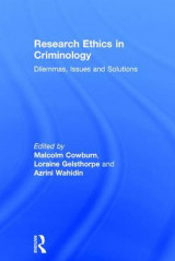 Omslag - Research Ethics in Criminology