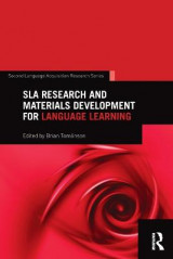 Omslag - SLA Research and Materials Development for Language Learning