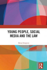 Omslag - Young People, Social Media and the Law
