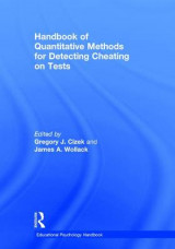Omslag - Handbook of Quantitative Methods for Detecting Cheating on Tests