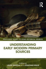 Omslag - Understanding Early Modern Primary Sources