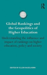Omslag - Global Rankings and the Geo-Politics of Higher Education