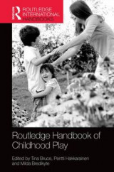 Omslag - The Routledge International Handbook of Early Childhood Play