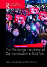 Omslag - Routledge Handbook of Democratization in East Asia