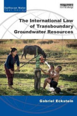 Omslag - The International Law of Transboundary Groundwater Resources