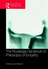 Omslag - The Routledge Handbook of Philosophy of Empathy