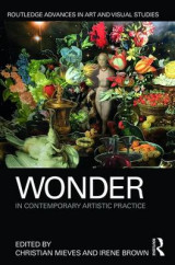 Omslag - Wonder in Contemporary Artistic Practice