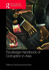 Omslag - Routledge Handbook of Corruption in Asia