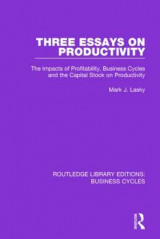 Omslag - Three Essays on Productivity