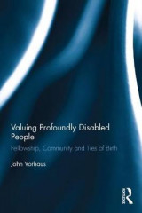 Omslag - Valuing Profoundly Disabled People