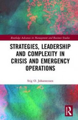 Omslag - Strategies, Leadership and Complexity in Crisis and Emergency Operations