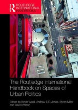 Omslag - The Routledge Handbook on Spaces of Urban Politics