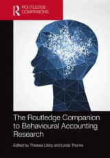 Omslag - The Routledge Companion to Behavioural Accounting Research