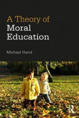 Omslag - A Theory of Moral Education