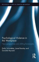 Omslag - Psychological Violence in the Workplace