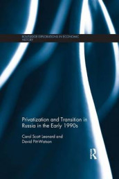 Privatization and Transition in Russia in the Early 1990s av David Pitt-Watson og Carol Scott Leonard (Heftet)