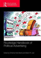 Omslag - Routledge Handbook of Political Advertising