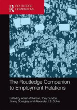Omslag - The Routledge Companion to Employment Relations