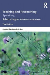 Omslag - Teaching and Researching Speaking