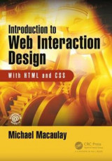 Omslag - Introduction to Web Interaction Design