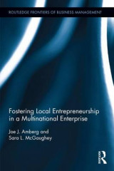 Omslag - Fostering Local Entrepreneurship in a Multinational Enterprise